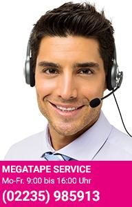 Megatape Reitshop Servicehotline 02235/985913-15